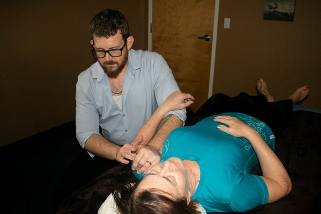 Chance Epps is a licensed massage therapist based at Cocoa Beach Health and Fitness.
