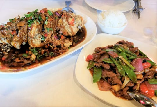 "Betsy Marvin (Jan. 25): ""(We dined at) Tely's, (Chinese restaurant) 6450 N. Wickham Road, Suntree) after watching a dragon celebrating the New Year. (We had) whole fried fish and Hunan lamb."""