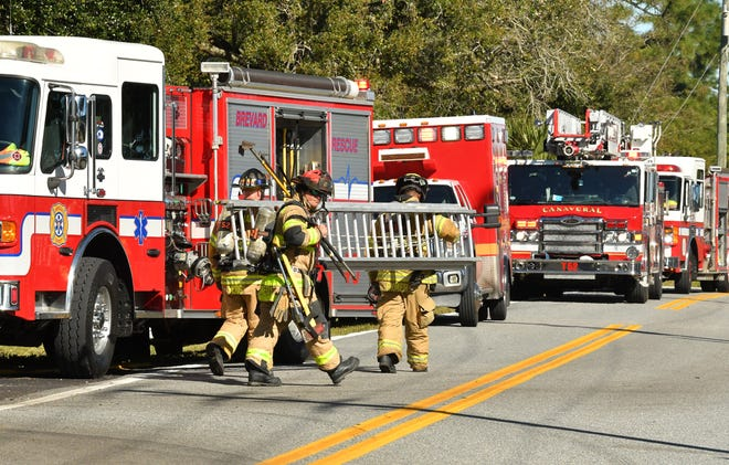"""Brevard County Fire Rescue first responders will be getting a one-time $1,500 """"hazard pay"""" payment, under a plan approved by the County Commission."""