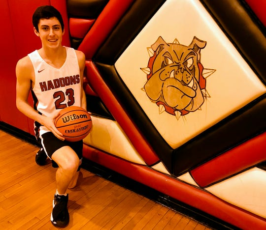 Haddonfield senior Andrew Gostovich has been one of the best 3-point shooters in South Jersey this season. He broke a school-record with 10 in a game and has helped the Haddons surprise a lot of fans with a 15-2 record in February.