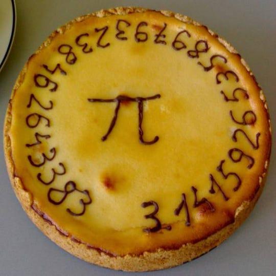 A pi pie.