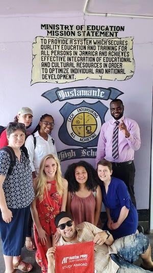 APSU mathematics students spend their winter break studying in Jamaica.