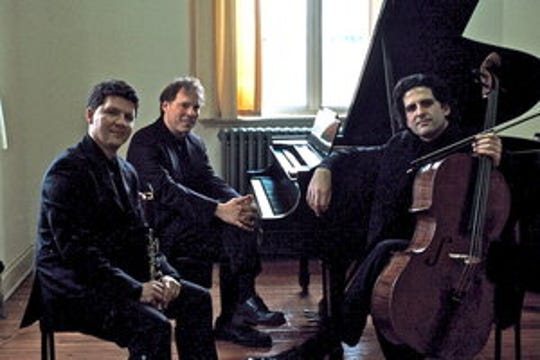 The Goldstein Peled Fiterstein Trio is composed of pianist Alon Goldstein, cellist Amit Peled, and clarinetist Alexander Fiterstein.