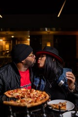 Mootz Pizzeria + Bar in Detriot is offering a Valentine's Day special for two.