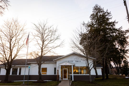 This is Fennville's City Hall.