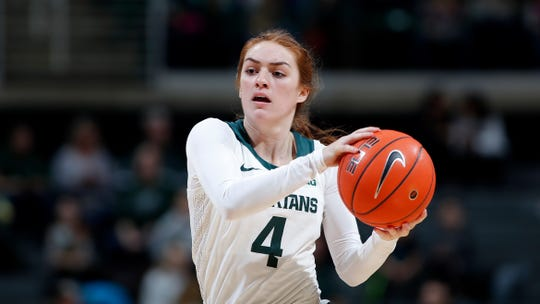 Taryn McCutcheon has amassed more than 1,000 points and 500 assists during her MSU career.
