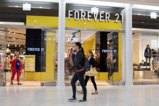 A Forever 21 clothing store in New York.