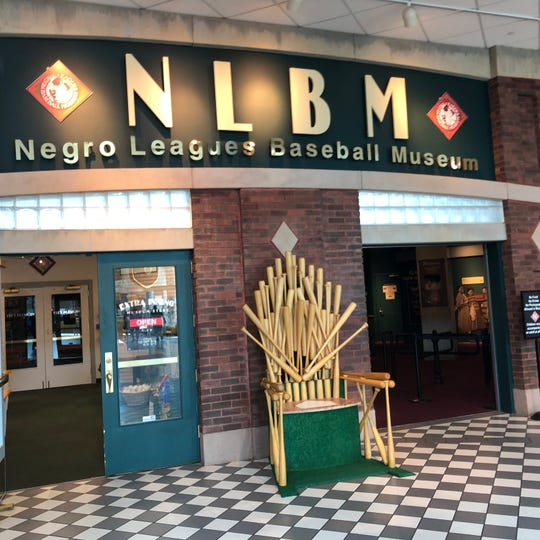 Kansas City's Negro Leagues Baseball Museum is in the historic 18th and Vine Jazz District.