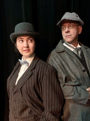 """Theatre Conspiracy performs the comedy """"Baskerville: A Sherlock Holmes Mystery"""" Feb. 13-23 at the Alliance for the Arts."""