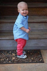 Lachlan Tannery, 2, of Seneca, died in May 2017 after battling Myelomonocytic Leukemia.