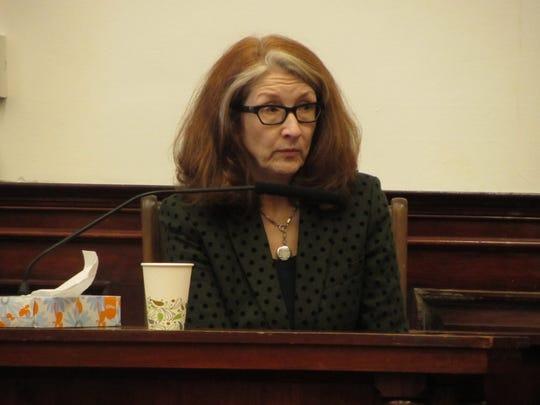 Expert witness Wendy Dutton testifies during the trial of Willard Deam McCaulou Monday, Feb. 3, 2020.