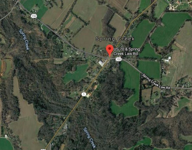 Madison County Fire Department personnel recovered the body of a man whose kayak overturned in Spring Creek near Spring Creek Law Road and Highway 70 on Sunday, Feb. 2, 2020.
