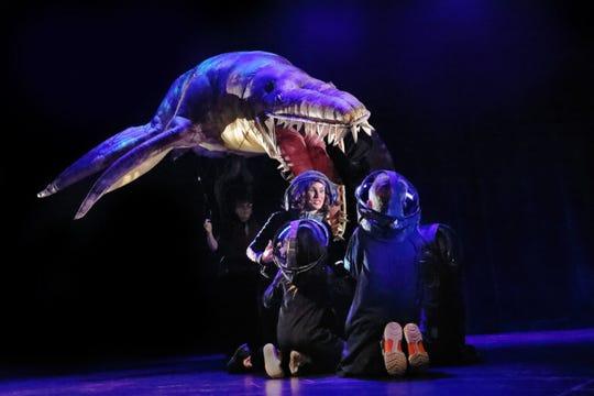 Erth's Prehistoric Aquarium Adventure will be presented by Purdue Convocations at 3 p.m. Feb. 9 at Loeb Playhouse, Purdue Stewart Center.