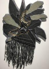 """Leap of Faith"" Textile by Ramona Dallum Lindsey"