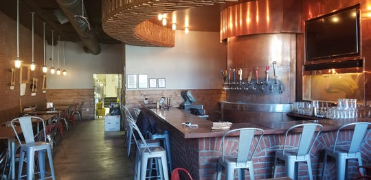 The interior of what will become Faces Bar & Bistro in the Highlands.
