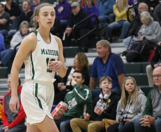 Madison's Leah Boggs was named first team All-District 6.