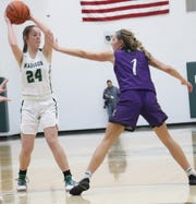 Madison's Jenna Wigton has the Lady Rams at No. 5  in the Richland County Girls Basketball Power Poll.