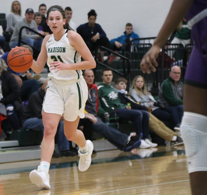 Madison's Chesney Davis was named third team All-Northwest District in Division I for her 2019-20 season.