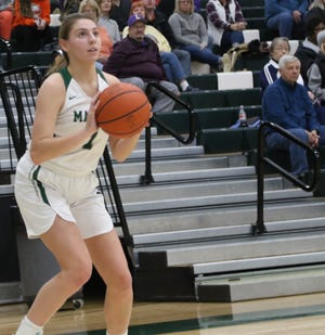 Madison's Kari Eckenwiler is off to a great start in 2020 as she has the Lady Rams at No. 1 in the Richland County Girls Basketball Power Poll this week.