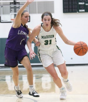 Madison's Chesney Davis hopes to lead the Lady Rams to an Ohio Cardinal Conference championship in 2020-21.