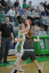 Clear Fork's Carson Crowner hopes to leave an impression of leadership with the Lady Colts.