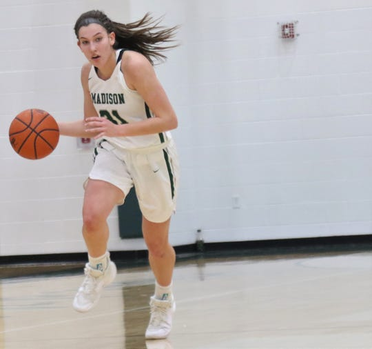 Madison's Chesney Davis has the Rams playing their best basketball of the season.