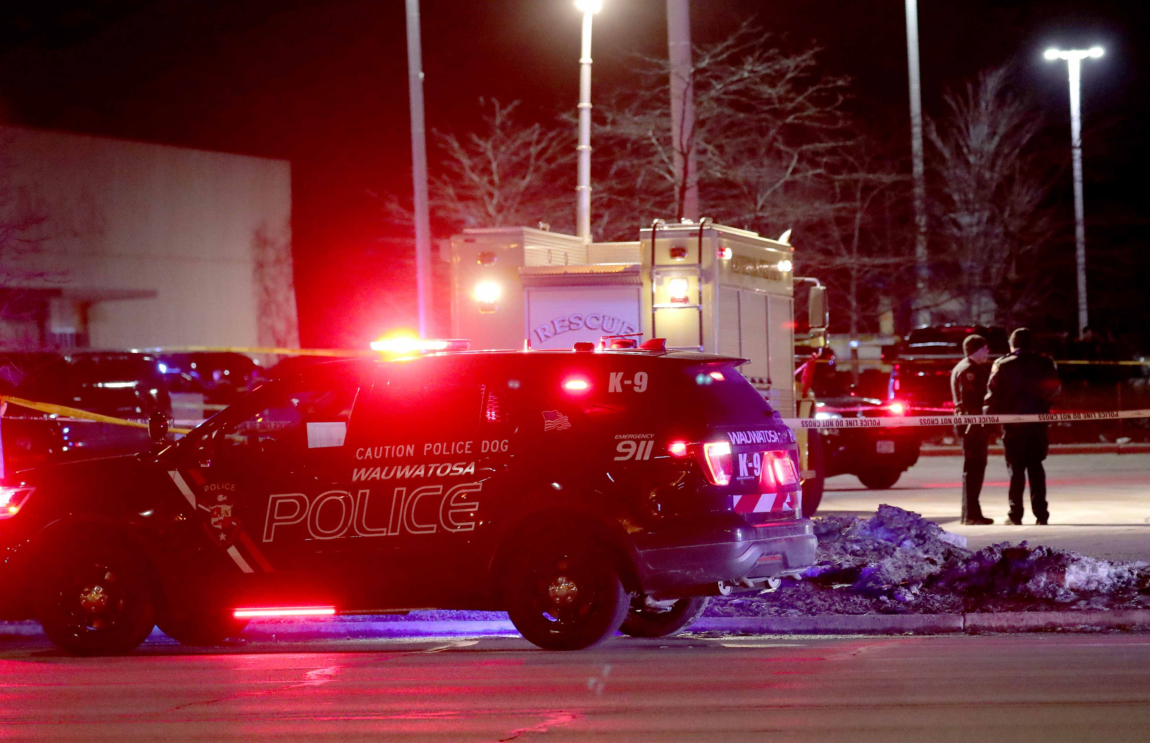 Image result for Wauwatosa police officers involved in deadly shooting in Mayfair Mall parking lot