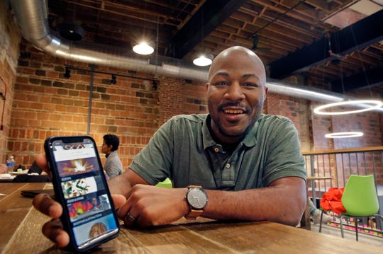 Rick Banks (pictured) and  Paul Wellington have  launched a new MKE Black app, designed  to highlight black business, cultural sites, calendars and networking.