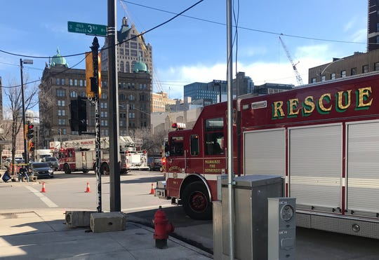 A Feb. 3 natural gas leak occurred at a construction project in the 200 block of West Wells Street. The city plans to suspend work on streets and sidewalks before and during the Democratic National Convention to prevent such outages.