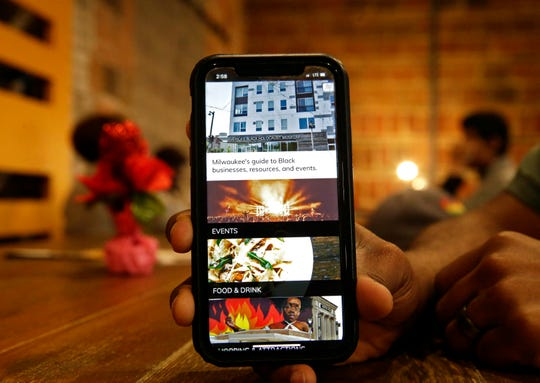 Rick Banks and  Paul Wellington have  launched a new MKE Black app, designed to highlight black business, cultural sites, calendars and networking.