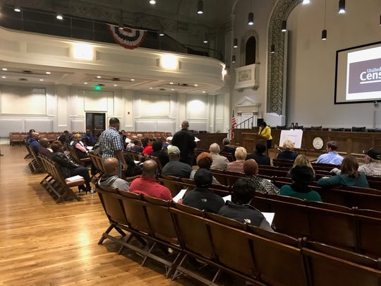 Councilwomen Audrey Graham's District 4 Quarterly meeting Thursday at City Hall.