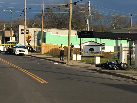 A stretch of Buchanan Street in North Nashville is closed while Metro Nashville police respond to a fatal crash in the area.