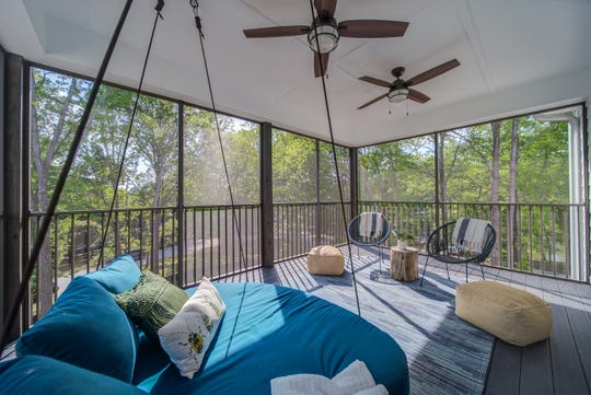 The townhomes at Mariners Cove have comfortable decks.