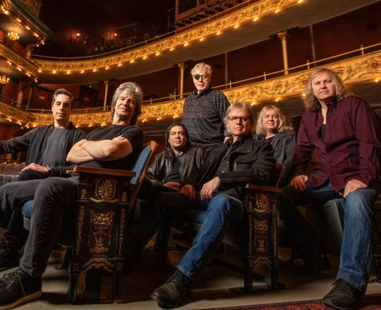 Kansas performs Feb. 6, 2020, at Barbara B. Mann Performing Arts Hall in Fort Myers. Lead singer Ronnie Platt, far right, joined the band in 2014 after working as a truck driver in Chicago.