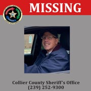 The Collier County Sheriff's Office is searching for Mark Miele, 67 of Williamsburg, Virginia. He was last on Jan. 22, 2020, when he left for a kayaking trip.