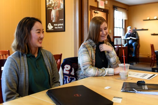 Newark Catholic junior Livia Barnett and Licking Valley junior Meghan Nelson were inspired to raise money for the  Leukemia and Lymphoma Society by their own mothers', Susan Barnett and Nicole Nelson, battles with Non-Hodgkins Lymphoma in their teen years.