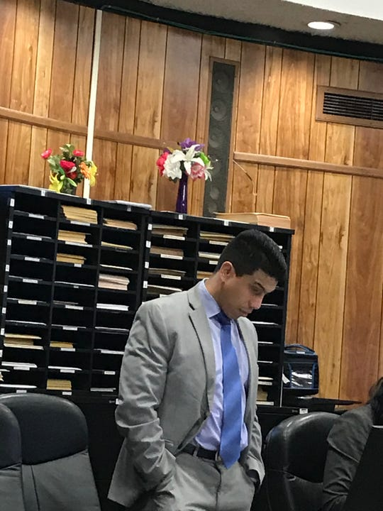 Assistant Prosecutor Jonathan Barrera argued that Baker is a flight risk and should be detained