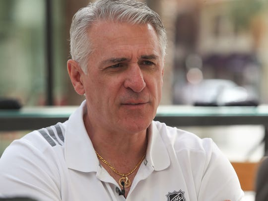 Ron Francis is the general manager of the new Palm Springs AHL hockey franchise, February 3, 2020.