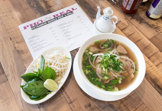 Pho Real on North Davis Highway in Pensacola on Monday, Feb. 3, 2020.