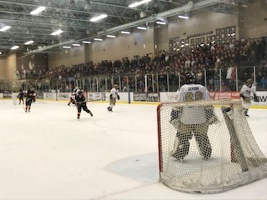 Massive crowd watches the Notre Dame Prep and Chaparral matchup last Saturday. The state title this Saturday should have a huge crowd.