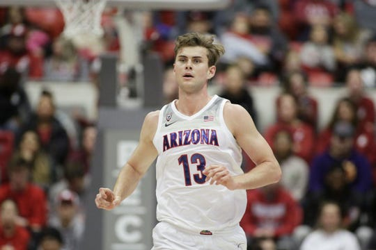 Arizona forward Stone Gettings had 19 points and 12 rebounds as the Wildcats won easily at Washington State.