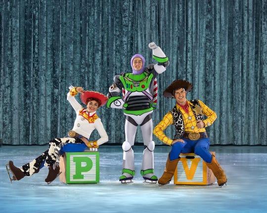 Cada uno de estos personajes cobrará vida para deslizarse por la pista de hielo.