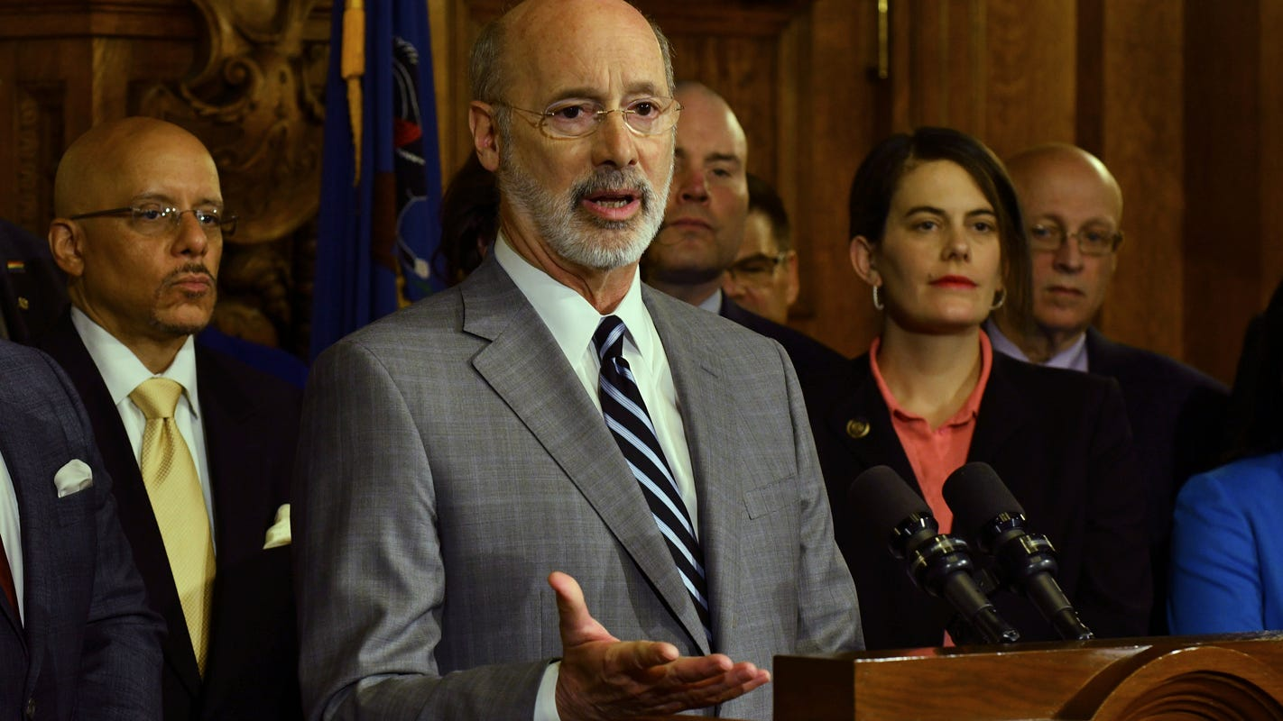 Watch live video: Gov. Tom Wolf addresses General Assembly about spending for 2020-21