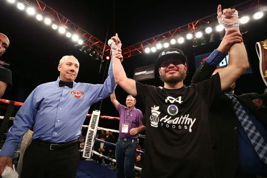 Villa, ranked no. 4 by BoxRec and no. 5 by the WBO in the U.S. in the featherweight division, could be in line for more headline fights in 2020. Jan. 31, 2020.