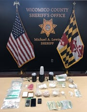 The Wicomico County Sheriff's Office found and seized more than 1,000 bags of heroin and $2,031 along with unpackaged heroin and cocaine from Isaiah D. Phillips' Salisbury home.