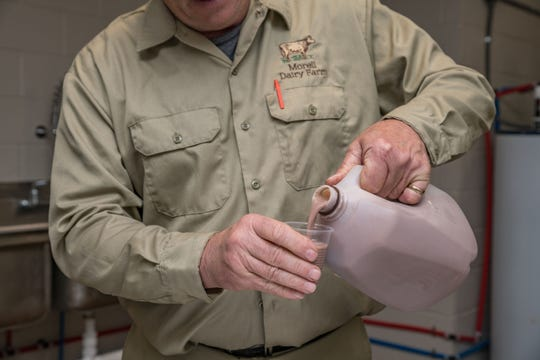 The Morell Dairy Farm offers skim, whole and chocolate milk.
