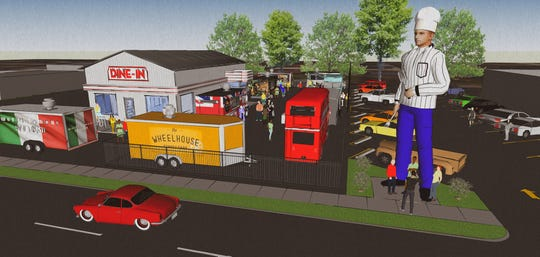 The Birthplace of Route 66 Food Truck Park and Diner is planned to be open at 1530 E. St. Louis St.