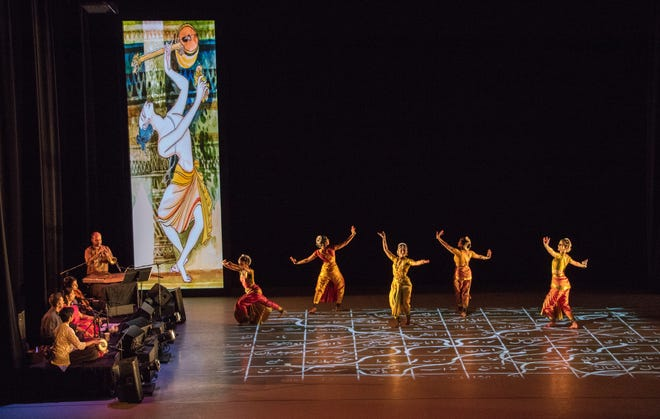 """The Ragamala Dance Companywill perform """"Written in Water"""" at 7:30 p.m. Feb. 8 in the Gorecki Family Theater at the College of St. Benedict."""