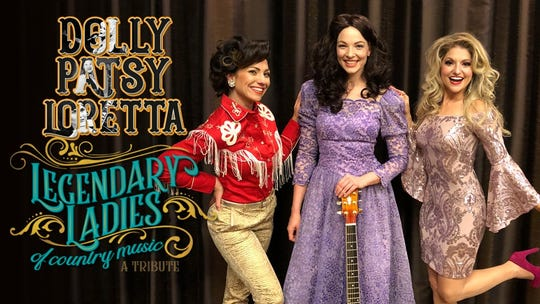 The Legendary Ladies of Country Music will perform at 1:30 p.m. and 7 p.m. Feb. 11 at the Paramount Center for the Arts.