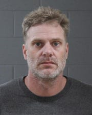 Brian Visser, 42, was arrested Jan. 24 in connection with the theft of 21 firearms.